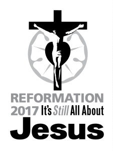 Reformation 2017 - Vertical Grayscale Logo