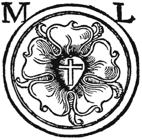 image about Martin Luther Seal Printable titled The Luther Seal: Conclusion of the Gospel - Lutheran Reformation