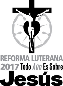 Reformation 2017 - Vertical Grayscale Logo (Spanish Translated)