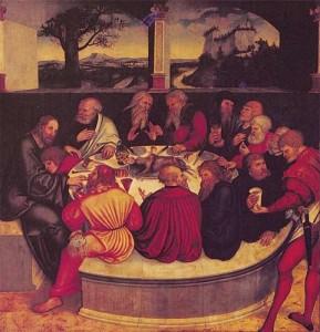 Lord's Supper Cranach