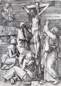 Durer Crucifixion Woodcut