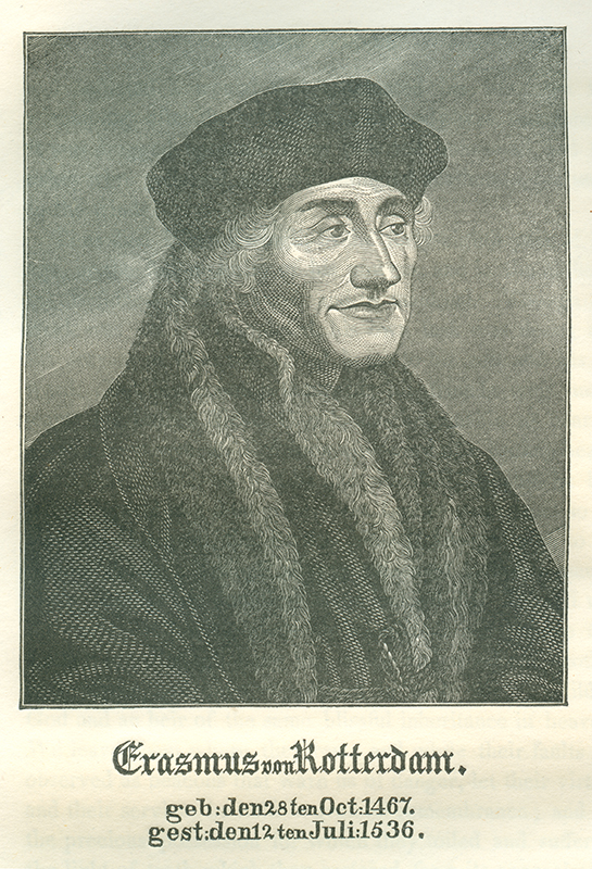 Luther And Erasmus Lutheran Reformation