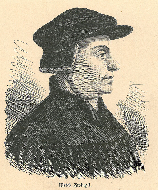 when did luther and zwingli meet