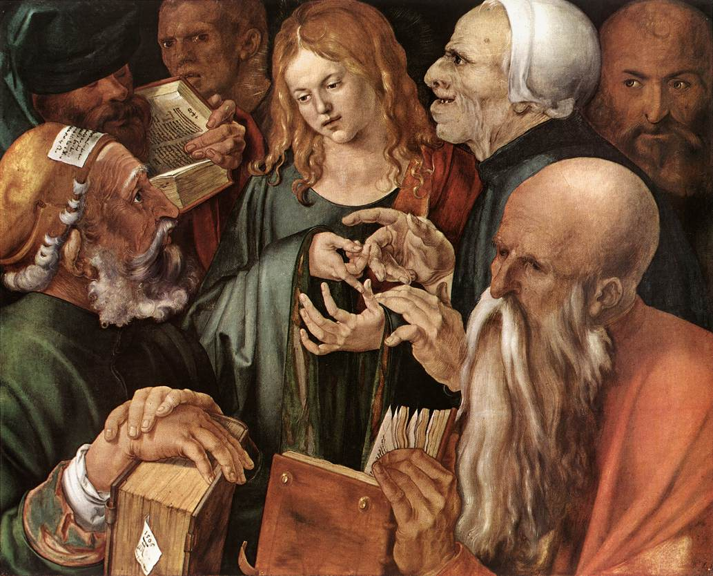 Dürer's Christ Among the Doctors - Lutheran Reformation