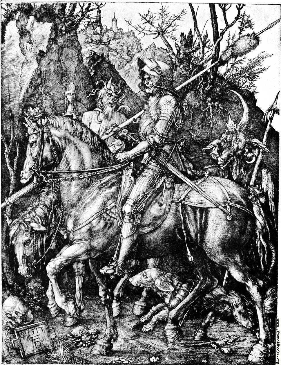 """Albrecht Dürer's """"Knight, Death, And The Devil"""""""