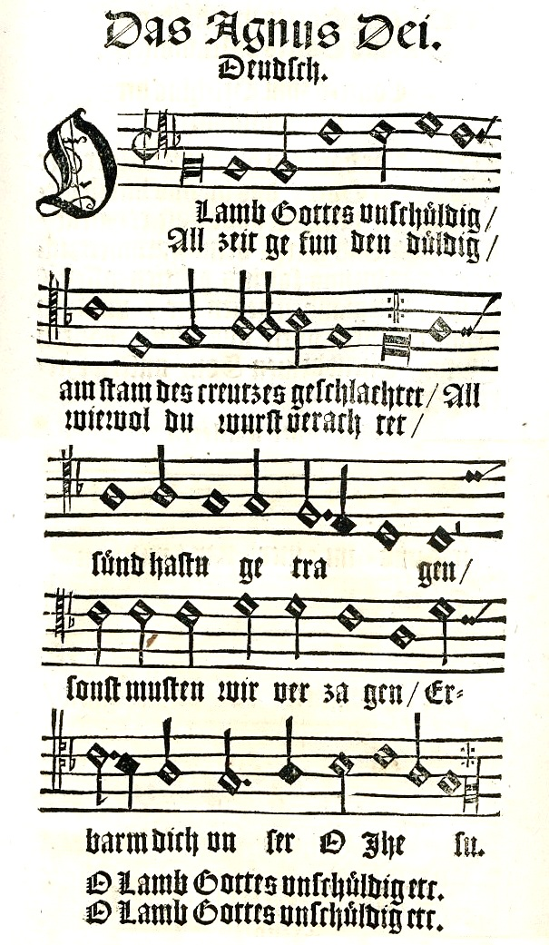 Lamm Gottes Lied
