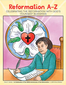 Reformation A-Z: Coloring Book